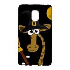 Halloween Giraffe Witch Galaxy Note Edge by Valentinaart