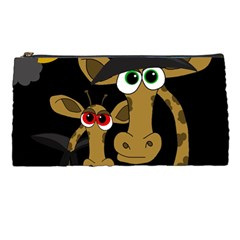 Giraffe Halloween Party Pencil Cases by Valentinaart