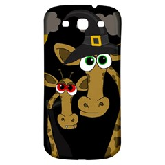 Giraffe Halloween Party Samsung Galaxy S3 S Iii Classic Hardshell Back Case by Valentinaart