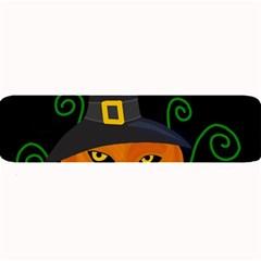 Halloween Witch Pumpkin Large Bar Mats by Valentinaart