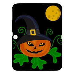 Halloween Witch Pumpkin Samsung Galaxy Tab 3 (10 1 ) P5200 Hardshell Case  by Valentinaart