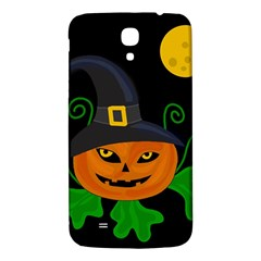 Halloween Witch Pumpkin Samsung Galaxy Mega I9200 Hardshell Back Case by Valentinaart