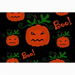 Halloween Pumpkin Pattern Collage Prints by Valentinaart
