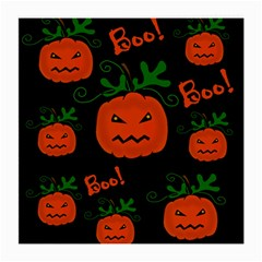 Halloween Pumpkin Pattern Medium Glasses Cloth by Valentinaart