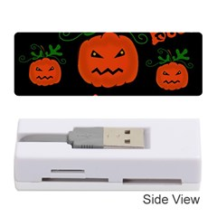 Halloween Pumpkin Pattern Memory Card Reader (stick)  by Valentinaart