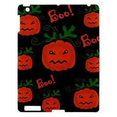 Halloween Pumpkin Pattern Apple Ipad 3/4 Hardshell Case by Valentinaart