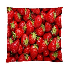 Red Fruits Standard Cushion Case (two Sides) by AnjaniArt