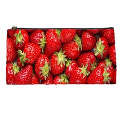Red Fruits Pencil Cases by AnjaniArt