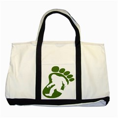 Sasquatch Two Tone Tote Bag