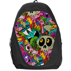 Sick Pattern Backpack Bag by AnjaniArt