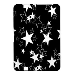 Star Black White Kindle Fire Hd 8 9  by AnjaniArt