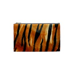 Tiger Cosmetic Bag (small)  by AnjaniArt
