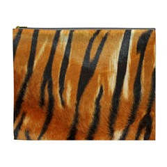 Tiger Cosmetic Bag (xl) by AnjaniArt