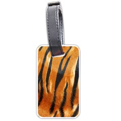 Tiger Luggage Tags (one Side)  by AnjaniArt