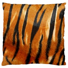 Tiger Large Cushion Case (One Side) by AnjaniArt