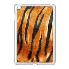 Tiger Apple Ipad Mini Case (white) by AnjaniArt