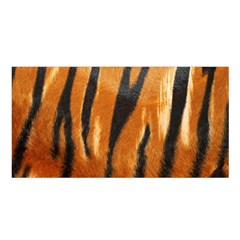 Tiger Satin Shawl