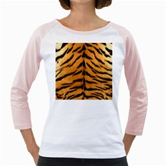 Tiger Skin Girly Raglans
