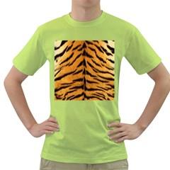 Tiger Skin Green T Shirt
