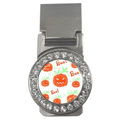 Halloween Pumpkins Pattern Money Clips (cz)  by Valentinaart