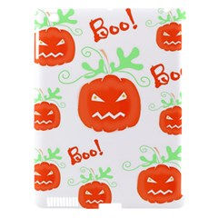 Halloween Pumpkins Pattern Apple Ipad 3/4 Hardshell Case (compatible With Smart Cover) by Valentinaart