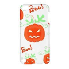 Halloween Pumpkins Pattern Apple Ipod Touch 5 Hardshell Case by Valentinaart