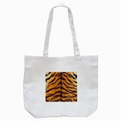 Tiger Skin Tote Bag (white)