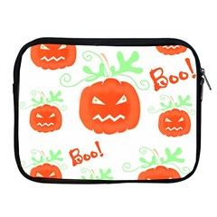 Halloween Pumpkins Pattern Apple Ipad 2/3/4 Zipper Cases by Valentinaart