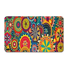 Tumblr Static Colorful Magnet (rectangular) by AnjaniArt