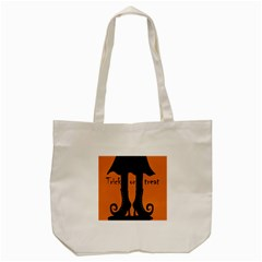 Halloween   Witch Boots Tote Bag (cream) by Valentinaart