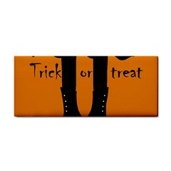 Halloween   Witch Boots Hand Towel by Valentinaart