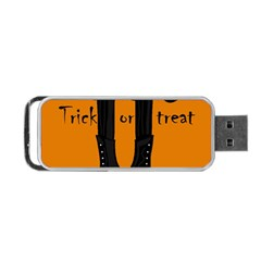Halloween   Witch Boots Portable Usb Flash (two Sides) by Valentinaart