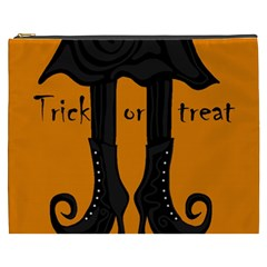 Halloween   Witch Boots Cosmetic Bag (xxxl)  by Valentinaart