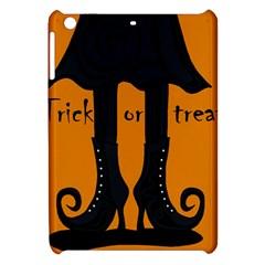 Halloween   Witch Boots Apple Ipad Mini Hardshell Case by Valentinaart