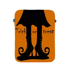 Halloween   Witch Boots Apple Ipad 2/3/4 Protective Soft Cases by Valentinaart