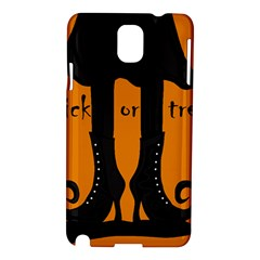 Halloween   Witch Boots Samsung Galaxy Note 3 N9005 Hardshell Case by Valentinaart