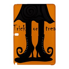 Halloween   Witch Boots Samsung Galaxy Tab Pro 12 2 Hardshell Case by Valentinaart