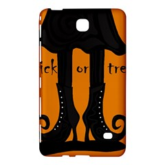 Halloween   Witch Boots Samsung Galaxy Tab 4 (8 ) Hardshell Case  by Valentinaart