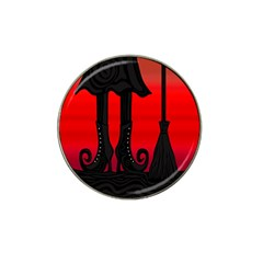 Halloween Black Witch Hat Clip Ball Marker (10 Pack) by Valentinaart