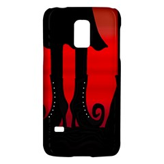 Halloween Black Witch Galaxy S5 Mini by Valentinaart