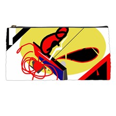 Abstract Art Pencil Cases by Valentinaart
