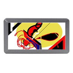 Abstract Art Memory Card Reader (mini) by Valentinaart