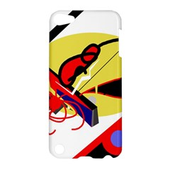 Abstract Art Apple Ipod Touch 5 Hardshell Case by Valentinaart