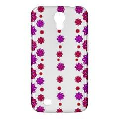 Vertical Stripes Floral Pattern Collage Samsung Galaxy Mega 6 3  I9200 Hardshell Case by dflcprints