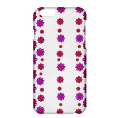 Vertical Stripes Floral Pattern Collage Apple Iphone 6 Plus/6s Plus Hardshell Case by dflcprints