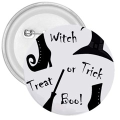 Halloween witch 3  Buttons by Valentinaart