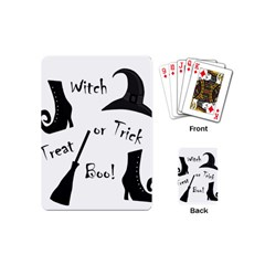 Halloween witch Playing Cards (Mini)