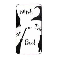 Halloween Witch Apple Iphone 4/4s Seamless Case (black) by Valentinaart