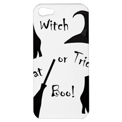Halloween Witch Apple Iphone 5 Hardshell Case by Valentinaart