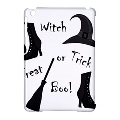 Halloween Witch Apple Ipad Mini Hardshell Case (compatible With Smart Cover) by Valentinaart
